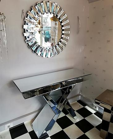 Gümüş Ayna Dresuar 1