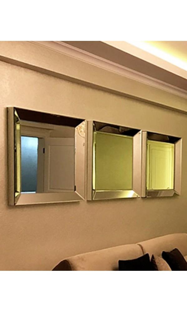 Gümüş Çerçeve Ayna