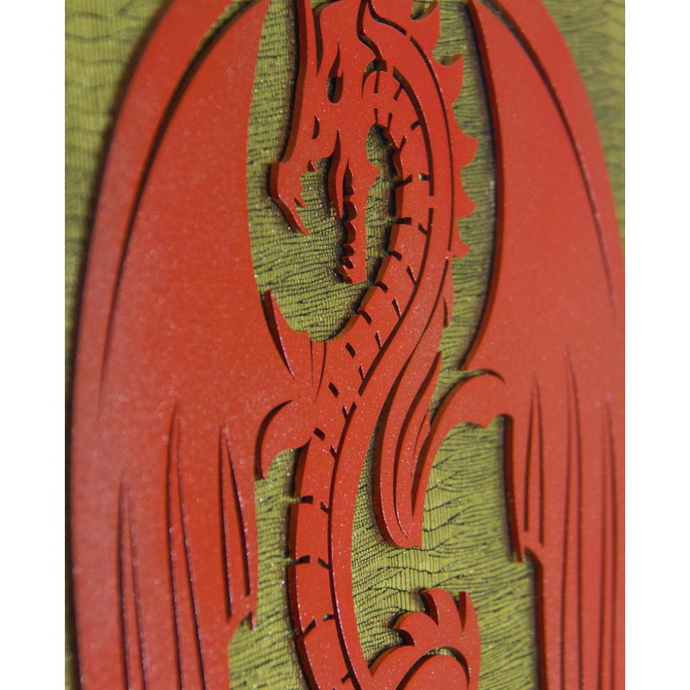 Dragon - Özel Tasarım Konsept Kalkan