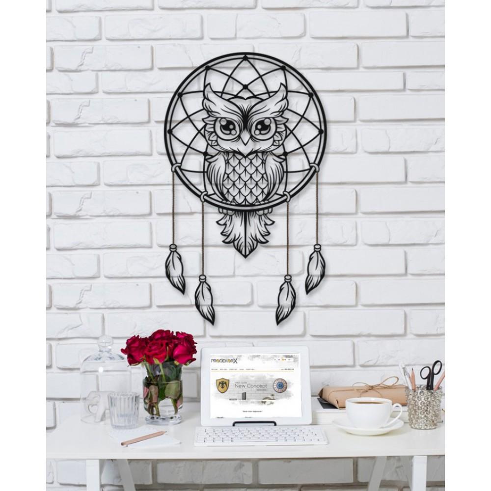 Baykuş Owl Metal Dekor