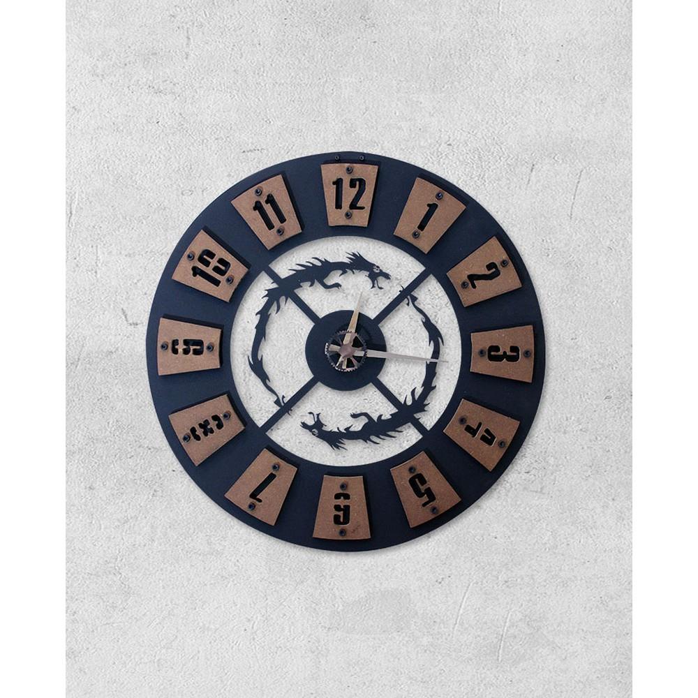 Dragon 1 - Özel Tasarım Konsept Saat
