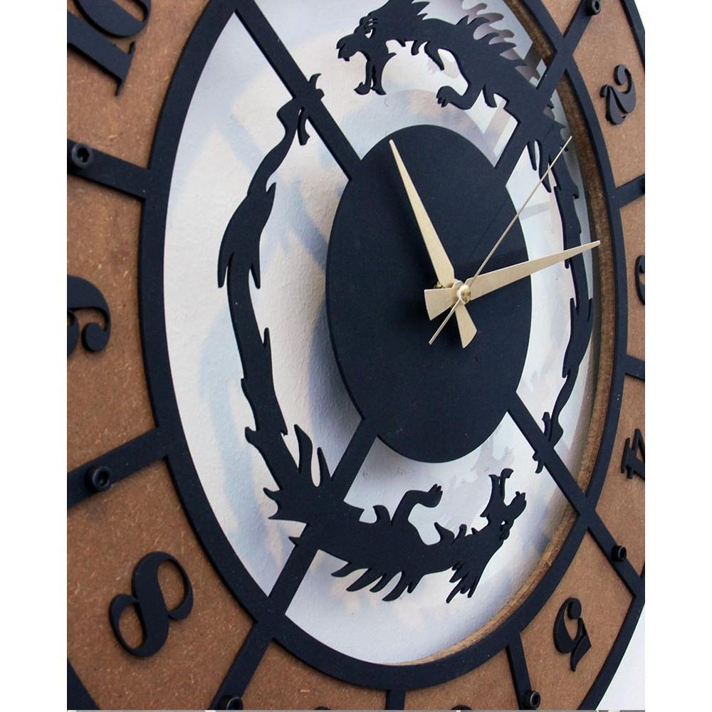 Dragon 2 - Özel Tasarım Konsept Saat