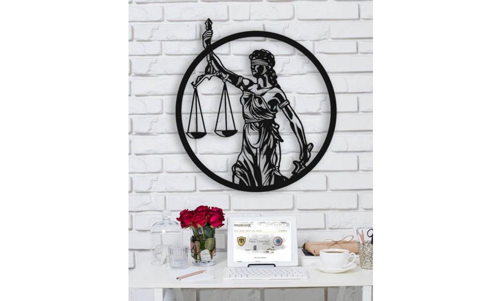 Justice Terazi Metal Dekor