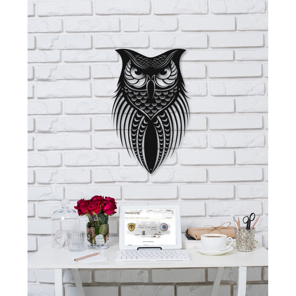 Owl Metal Dekor