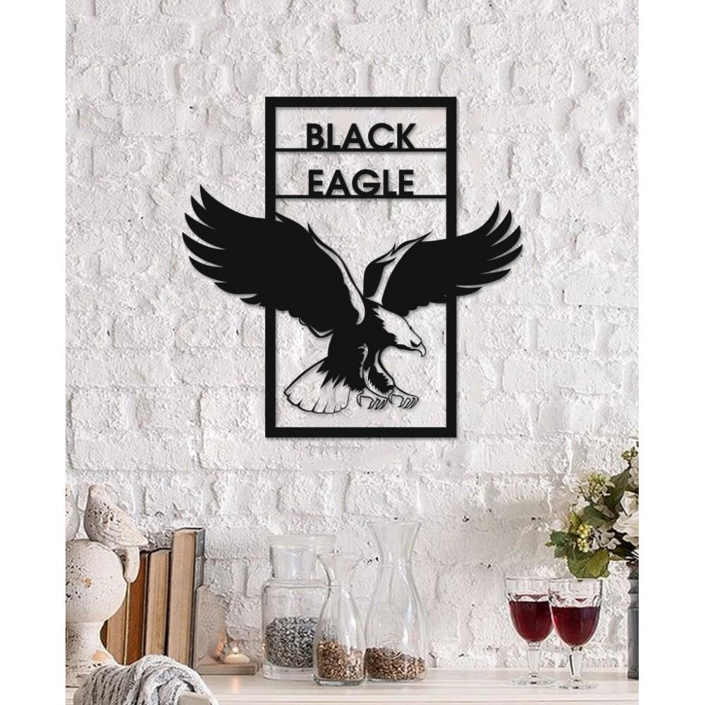 Black Eagle ( Kara Kartal) Beşiktaş Metal Tablo